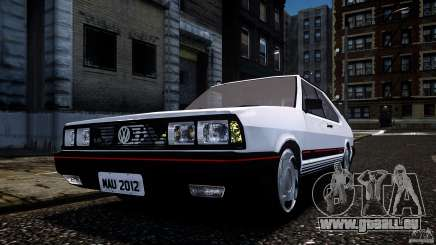 Volkswagen Passat Pointer GTS 1988 Turbo pour GTA 4