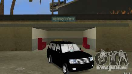 Toyota Land Cruiser 100 VX V8 für GTA Vice City