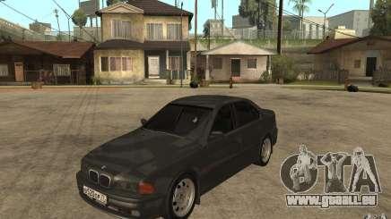 BMW 523i E39 1997 pour GTA San Andreas