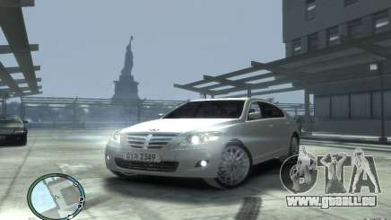 Hyundai Genesis Sedan Elite für GTA 4