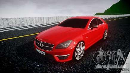 Mercedes-Benz CLS 63 AMG 2012 pour GTA 4