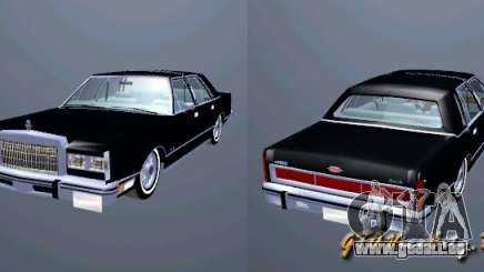 Lincoln Town Car 1986 pour GTA San Andreas