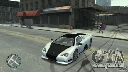 Shelby Super Cars Ultimate Aero pour GTA 4