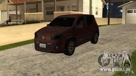 Fiat Novo Uno Sporting pour GTA San Andreas