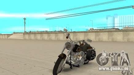 Harley Davidson FLSTF (Fat Boy) v2.0 Skin 5 für GTA San Andreas
