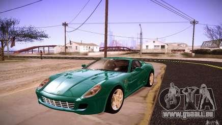 Ferrari 599 GTB Fiorano 2010 für GTA San Andreas
