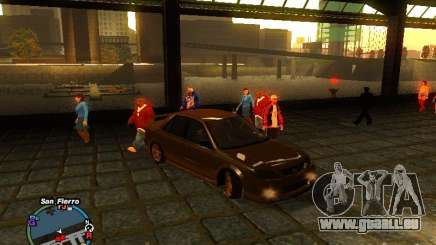 Mazda Mazdaspeed Familia 2001 pour GTA San Andreas