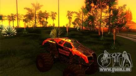 Monster Truck Maximum Destruction für GTA San Andreas
