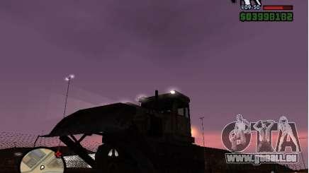 Bulldozer T 130 pour GTA San Andreas