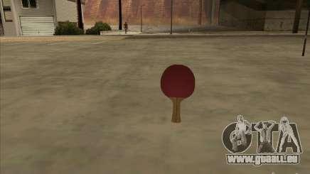 Raquette de tennis pour GTA San Andreas