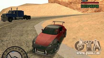 Nissan 370Z Undercover für GTA San Andreas