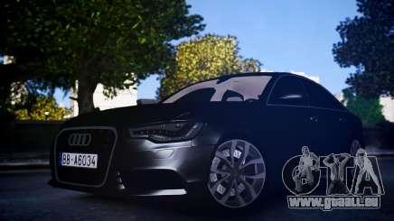 Audi A6 2012 pour GTA 4