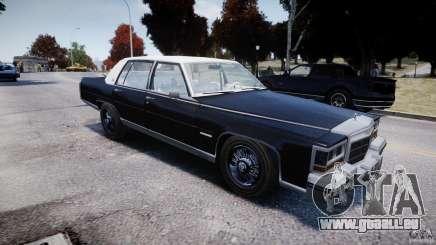 Cadillac Fleetwood Brougham 1985 für GTA 4