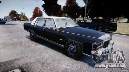 Cadillac Fleetwood Brougham 1985 pour GTA 4