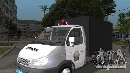 GAZ 3302 Police pour GTA San Andreas