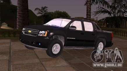 Chevrolet Avalanche für GTA San Andreas