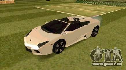 Lamborghini Reventon Convertible für GTA San Andreas