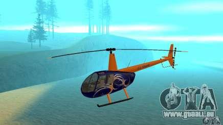 Robinson R44 Raven II NC 1.0 3 de la peau pour GTA San Andreas