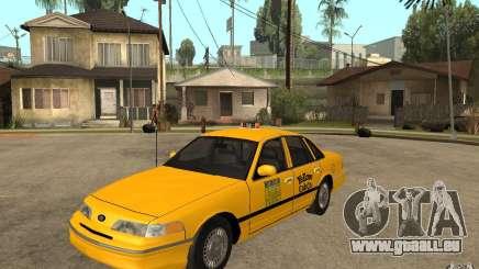 Ford Crown Victoria Taxi 1992 pour GTA San Andreas