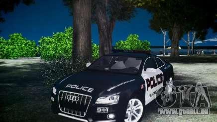 Audi S5 Police für GTA 4