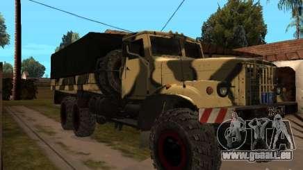 KrAZ 255 B1 v 2.0 pour GTA San Andreas
