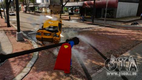 Skript für Superman für GTA 4 siebten Screenshot