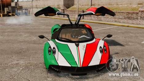 Pagani Huayra 2011 [EPM] Italian für GTA 4 Seitenansicht