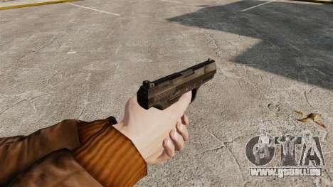 Walther P99 halbautomatische Pistole v4 für GTA 4 Sekunden Bildschirm