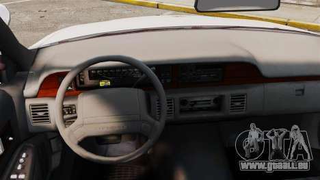 Chevrolet Caprice 1991 [ELS] v2 für GTA 4 Innenansicht