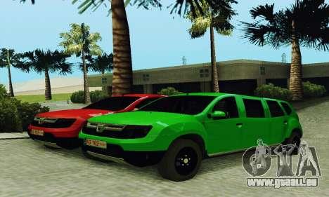Dacia Duster Limo für GTA San Andreas