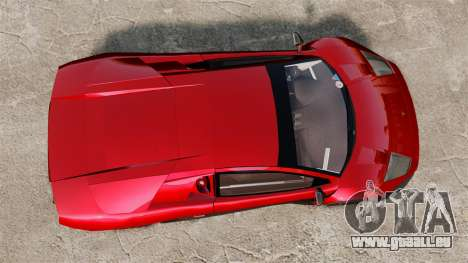 Lamborghini Murcielago RGT pour GTA 4 est un droit