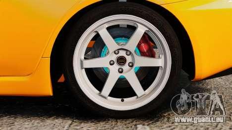 Mitsubishi Lancer Evolution X pour GTA 4 Vue arrière