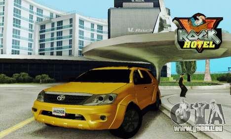 Toyota Fortuner Original 2013 pour GTA San Andreas