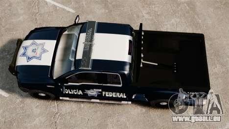 Ford F-150 De La Policia Federal [ELS & EPM] v3 pour GTA 4 est un droit