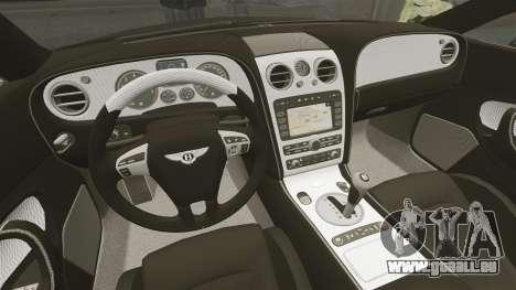 Bentley Continental GT Imperator Hamann EPM pour GTA 4 Vue arrière