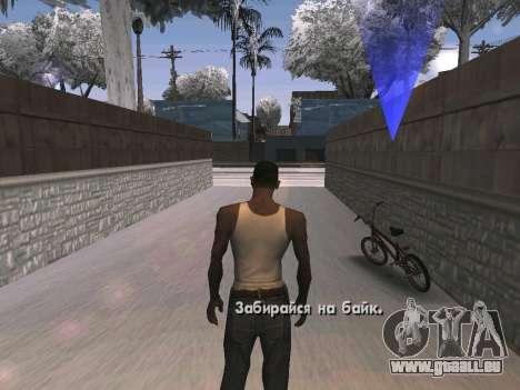 Winter Color Mod pour GTA San Andreas troisième écran