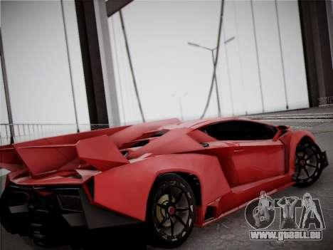 Lamborghini Veneno für GTA San Andreas Seitenansicht