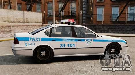 Montreal Polizei v2 für GTA 4 linke Ansicht