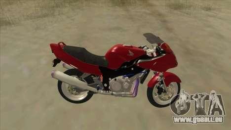 Honda CBR1100XX pour GTA San Andreas laissé vue