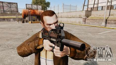 Belgische FN P90 Maschinenpistole v1 für GTA 4 dritte Screenshot