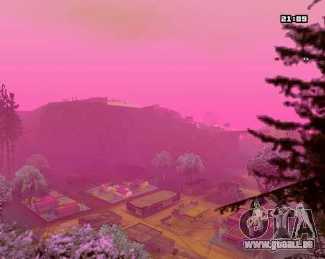 Pink NarcomaniX Colormode für GTA San Andreas zweiten Screenshot