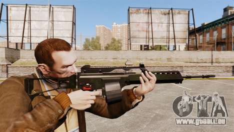 Fusil d'assaut MG36 H & K v2 pour GTA 4