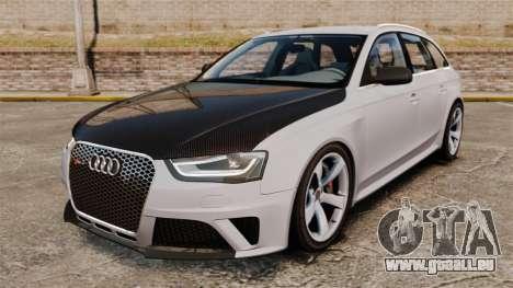 Audi RS4 Avant 2013 Sport v2.0 für GTA 4