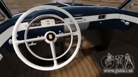 Cadillac Series 62 convertible 1949 [EPM] v3 pour GTA 4 est une vue de l'intérieur