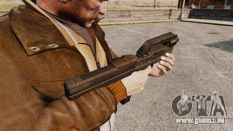 Magpul FMG Maschinenpistole-9 für GTA 4 Sekunden Bildschirm