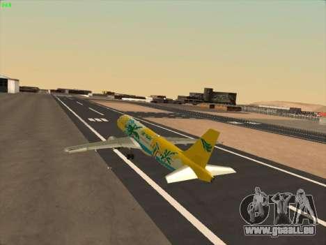 Airbus A320-211 Cebu Pacific Airlines pour GTA San Andreas salon