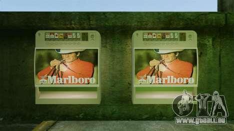 Neue Automaten Zigaretten zu verkaufen für GTA 4 Sekunden Bildschirm