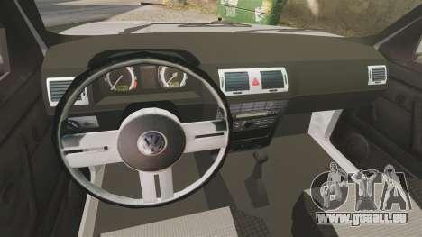 Volkswagen Citi Golf Velociti 2008 pour GTA 4 est une vue de l'intérieur