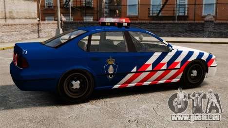La police militaire néerlandaise pour GTA 4 est une gauche