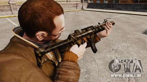 V8 MP5SD Maschinenpistole für GTA 4 Sekunden Bildschirm